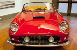 250 GT California Spyder at Italy in Motion, Coral Gables Museum